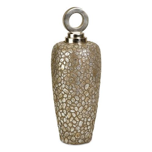 CKI Tall Myriad Lidded Vase