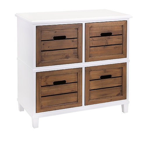 Lo Country 4 drawer Chest