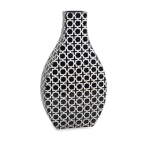 Madison Patterned Vase, tall