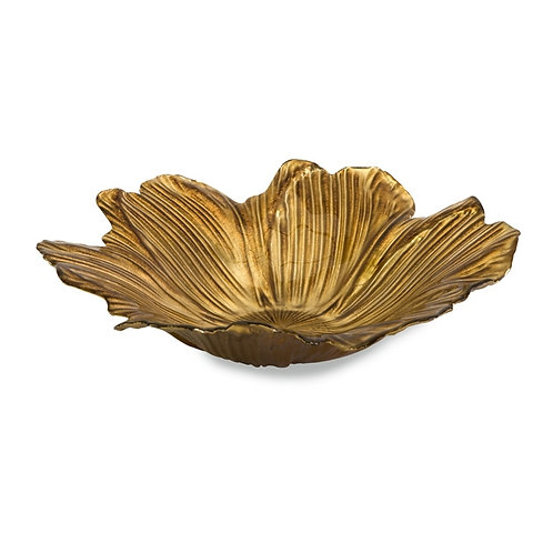 King Floral Glass Bowl