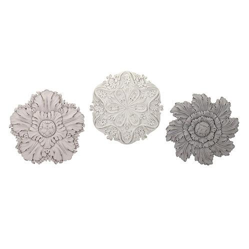 Ella Elaine Dimensional Wall Flowers