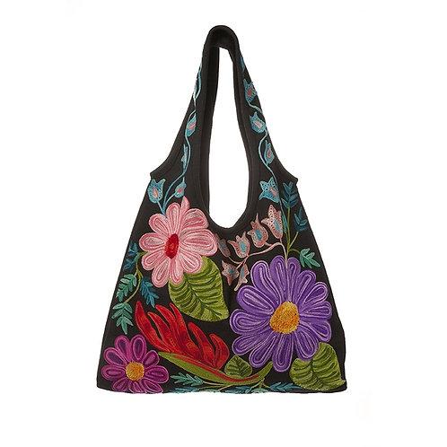 NH Embroidered Bag