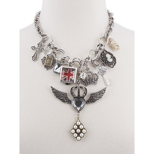 NH Wings over Britain Necklace