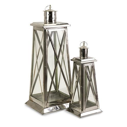 Big E's Steel Lanterns, Set of 2