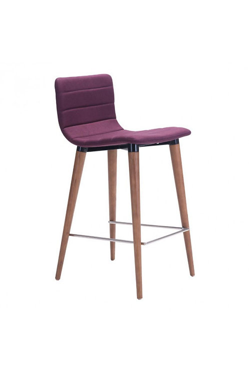 Jericho Counter Chair, Purple
