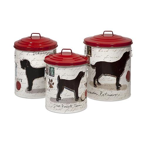 Buster's Dog Food Storage, set of 3