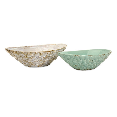 KK & Jace Seashell Serving Bowls, Set of 2