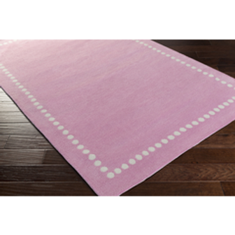 Kayla Marie Pink Dots Rug, 5' x 8'