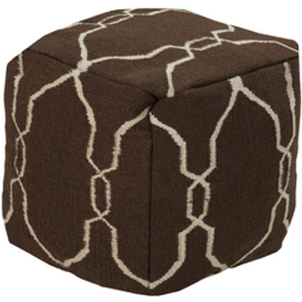 Penny Classic Ottoman, Brown