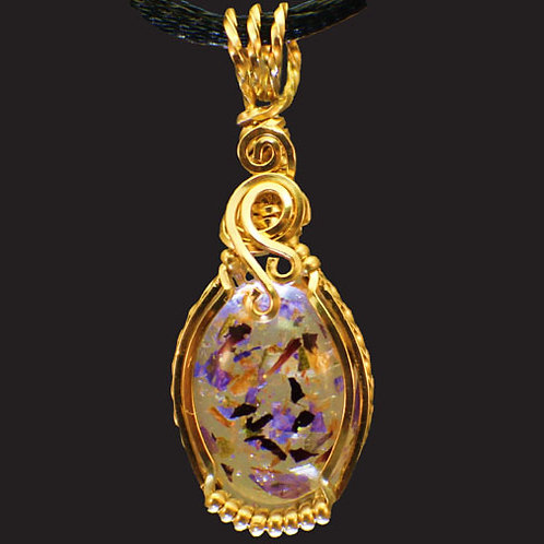 Classic Pendant - 14kt Gold Filled Wire or Sterling Silver Wire
