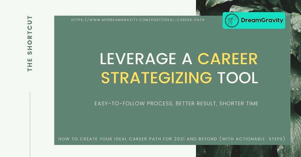 Ideal Career Path - MyDreamGravity - Leverage a Career Strategizing Tool