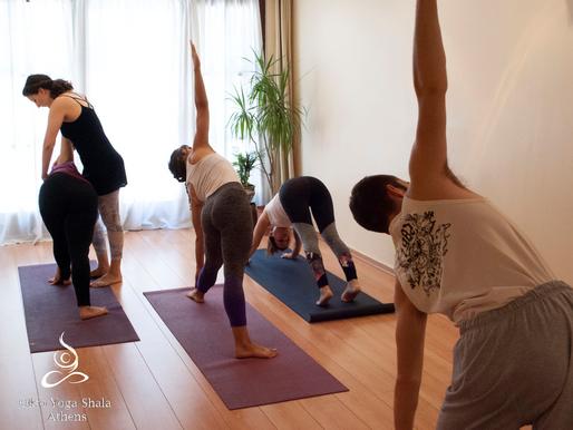 Πρακτική yoga σε μικρά γκρουπ, τα οφέλη