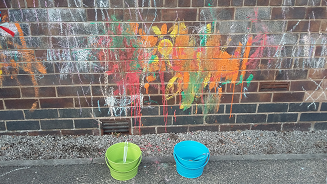 rainbows outdoor paint fb