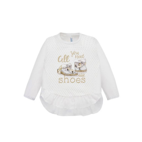 MAYORAL Baby Tee shirt M/L shoes