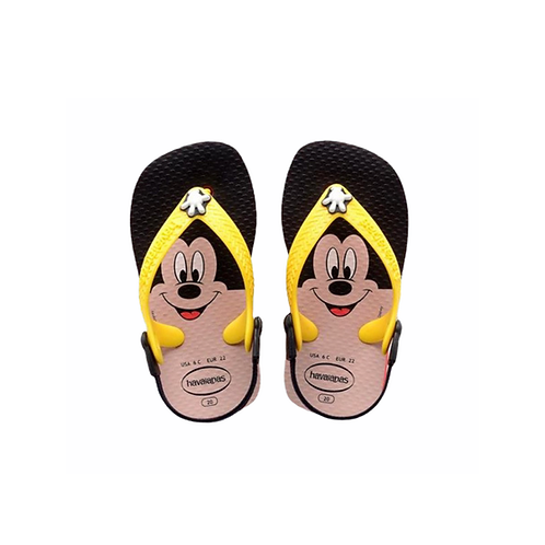 HAVAIANAS Tong Baby Mickey rouge