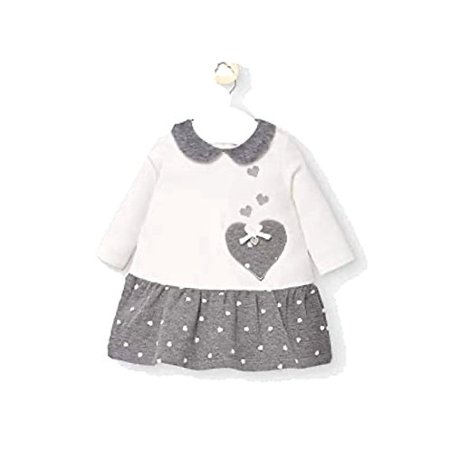 MAYORAL  Baby Robe jupe à pois 2854