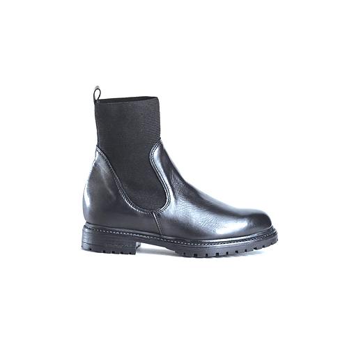 REQINS Boots EVELYN Noir lisse