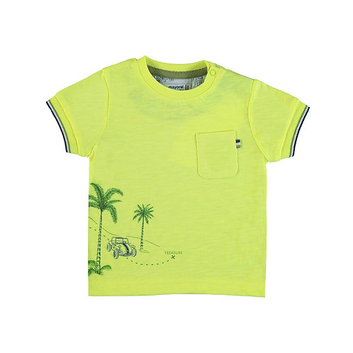 MAYORAL BABY Tee-shirt fluo