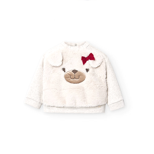 MAYORAL Baby SWEAT fausse fourrure 2402