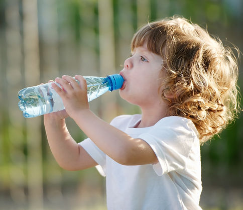 little-girl-drinking-clean-water-from-pl