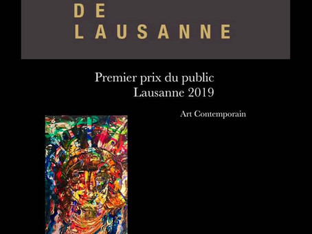 Lausanne 2019 - Premier prix du public