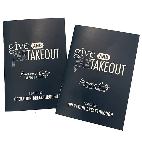 (2) Give & ParTakeout Books Benefitting Operation Breakthrough