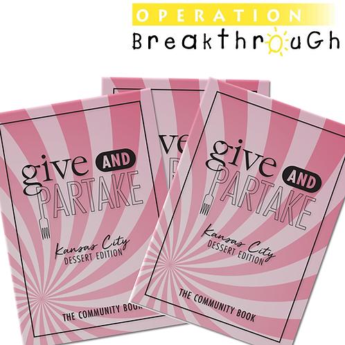 G&P Dessert Book Benefitting Operation Breakthrough (3-Pack)