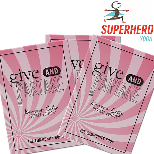 G&P Dessert Book Superhero Yoga (3-Pack)