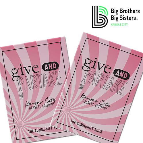 G&P Dessert Book Benefitting Big Brothers Big Sisters KC (2-Pack)