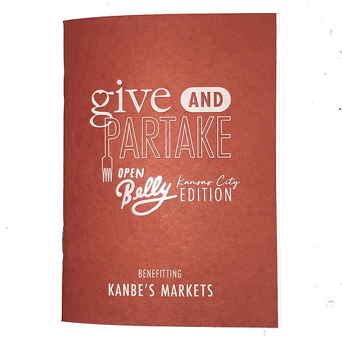 Open Belly Book Benefitting Kanbe's Markets