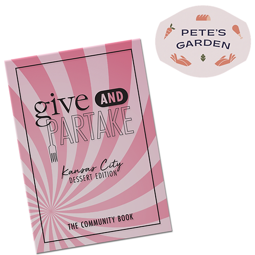 G&P Dessert Book Benefitting Pete's Garden