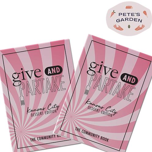 G&P Dessert Book Benefitting Pete's Garden (2-Pack)