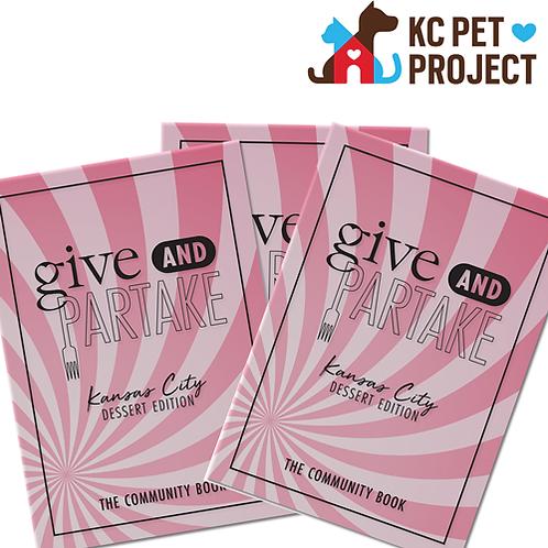 G&P Dessert Book Benefitting KC Pet Project (3-Pack)