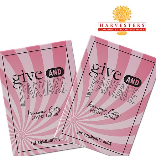 G&P Dessert Book Benefitting Harvesters (2-Pack)