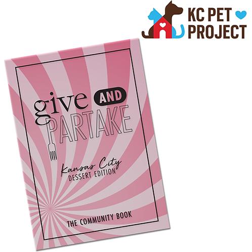 G&P Dessert Book Benefitting KC Pet Project