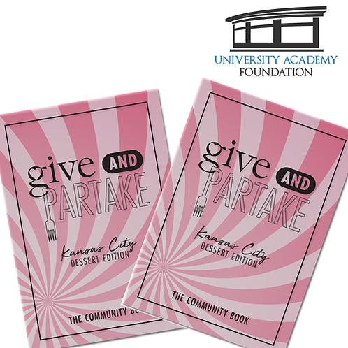 G&P Dessert Book Benefitting University Academy Foundation (2-Pack)