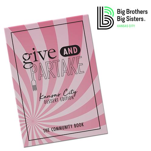 G&P Dessert Book Benefitting Big Brothers Big Sisters KC