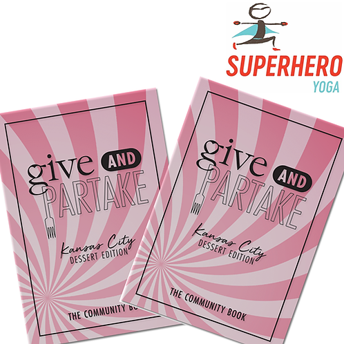 G&P Dessert Book Superhero Yoga (2-Pack)