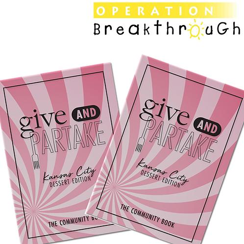 G&P Dessert Book Benefitting Operation Breakthrough (2-Pack)