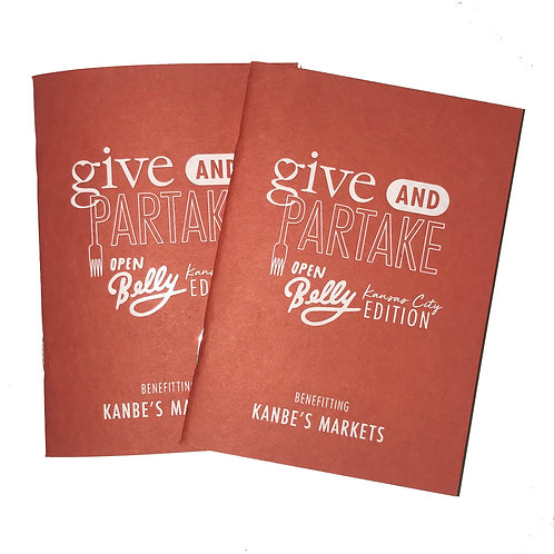 (2) Open Belly Books Benefitting Kanbe's Markets