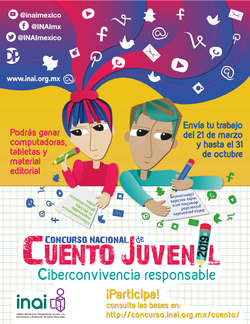 INAI :: Concurso Nacional de Cuento Juvenil 2019