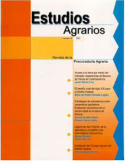 Revista, Estudios Agrarios, 2001 (No. 16)