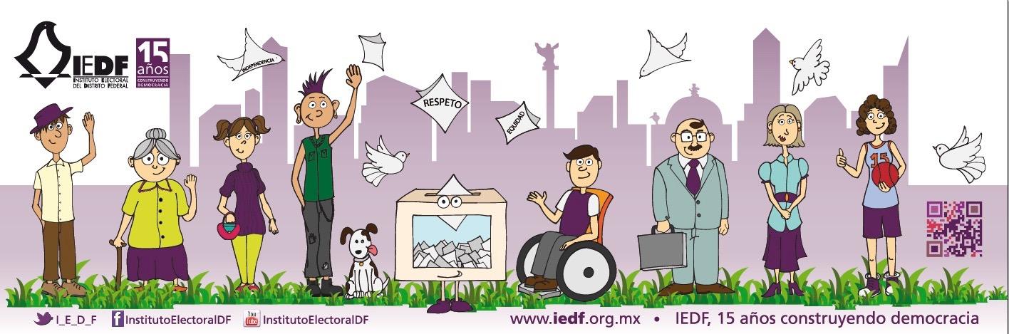 Campaña, Valores 2015, IEDF