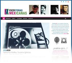 Sitio web: Escritoras Mexicanas