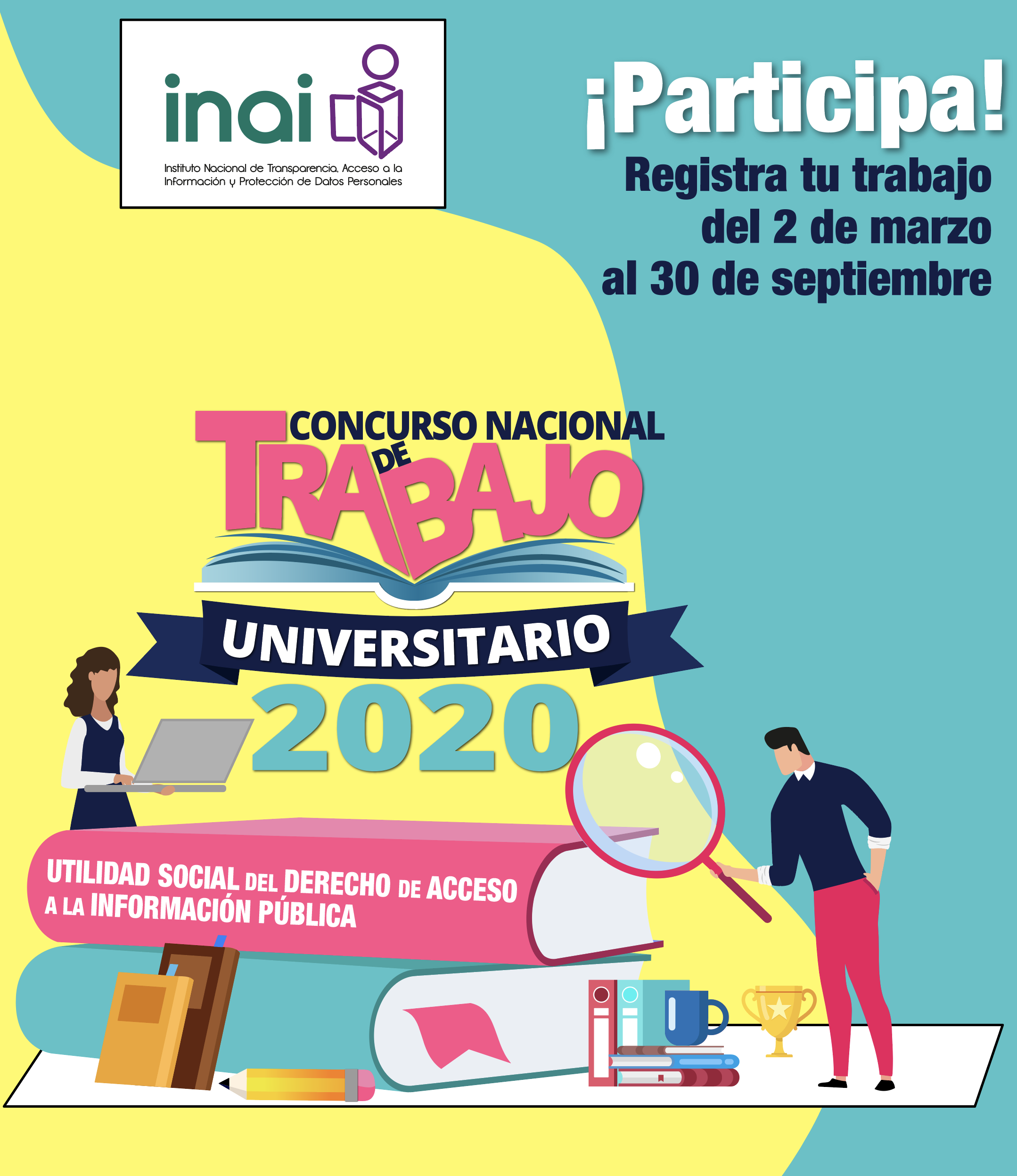 INAI :: Concurso Nacional de Trabajo Universitario 2020