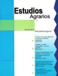 Revista, Estudios Agrarios, 2001 (No. 17)