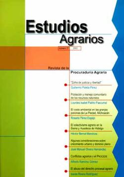 Revista, Estudios Agrarios, 2001 (No. 21)