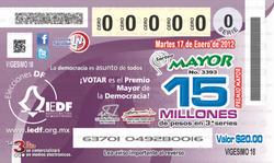 Lotenal, Sorteo Mayor No. 3393