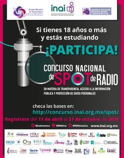 INAI :: Concurso Nacional de Spot de Radio 2019