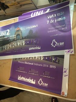 """Campaña """"Ciudadanos Uni2"""", IEDF"""